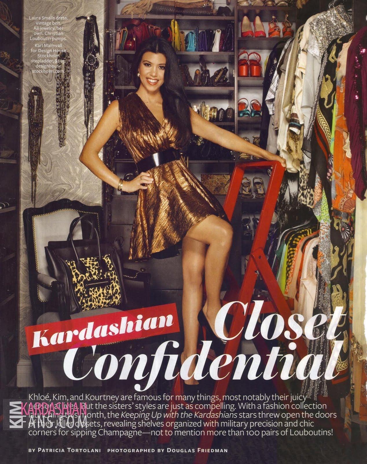 Kardashian Closet Sneak Peaks