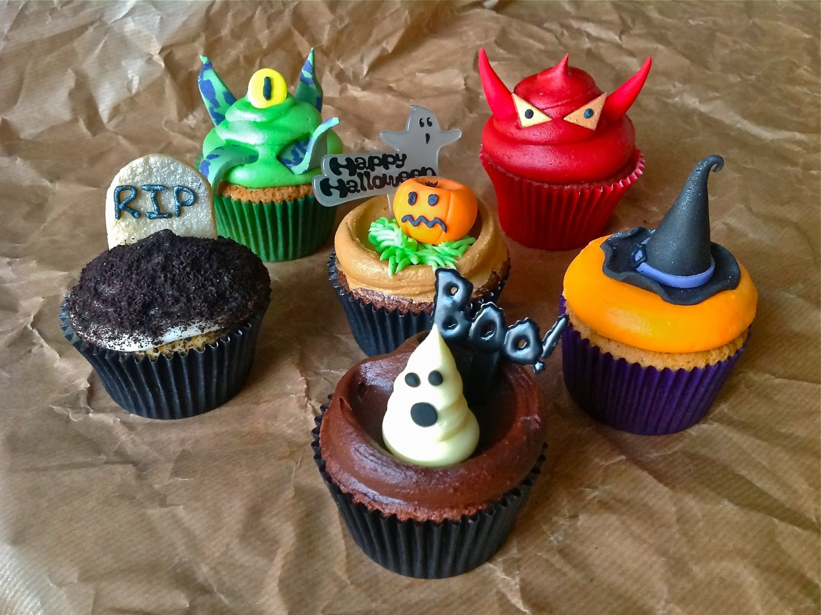 Hd Wallpapers Blog Halloween Cupcakes