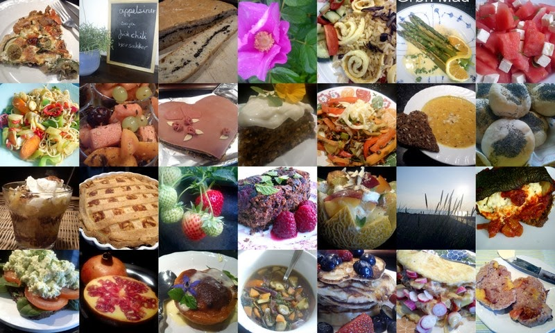 Hver dags Vegetarmad.                                                Grøntsagsmad, Brød og Kager