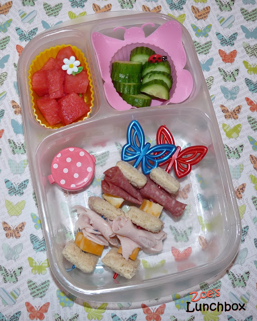 Butterfly easylunchboxes lunch