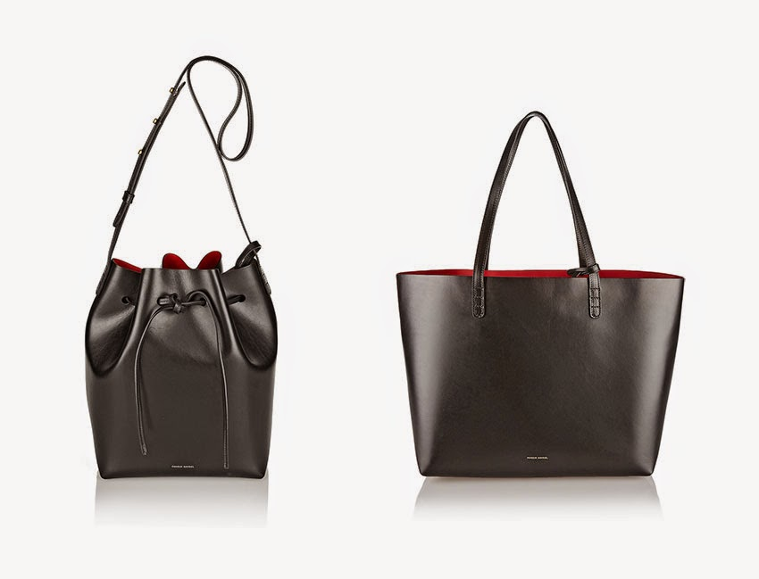 Mansur Gavriel bucket bag and Mansur Gavriel tote