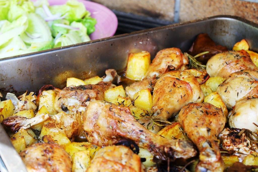 696 pollo asado con patatas rapido y f cil descargar for Cocina facil y rapido de preparar