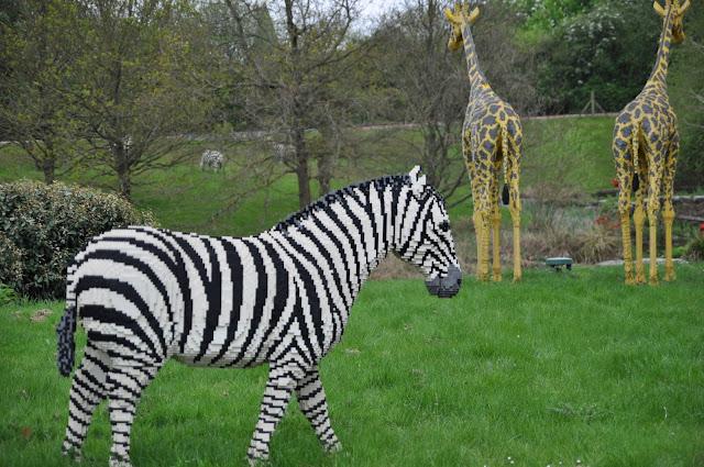 Windsor+Legoland+Lego+Zebra+Giraffe