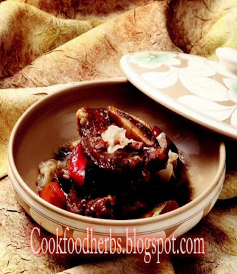 Morki steamed short ribs