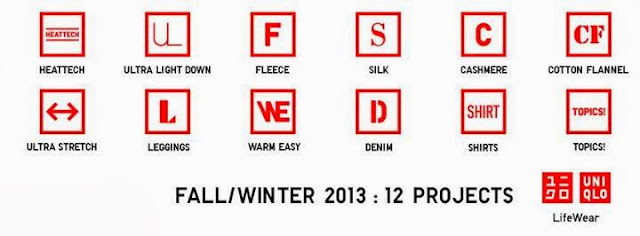 UNIQLO LifeWear Fall Winter 2013 Collection, 12 design projects, lifewear, uniqlo, fashion, lifestyle