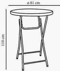 alquiler de mesas altas en jaen