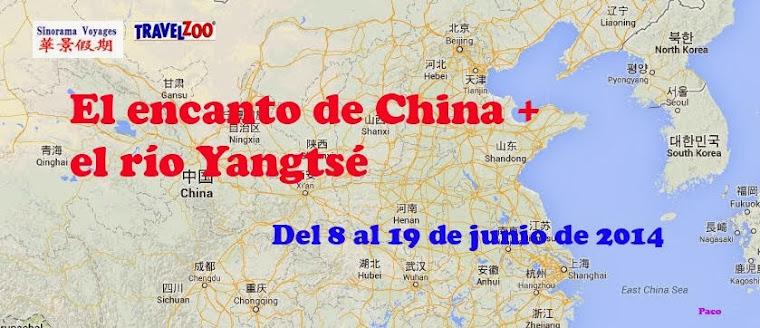 El encanto de China + el Río Yangtsé