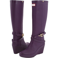 Rainy boots - Gummy boots - Hunter boots - For a rainy weather - purple
