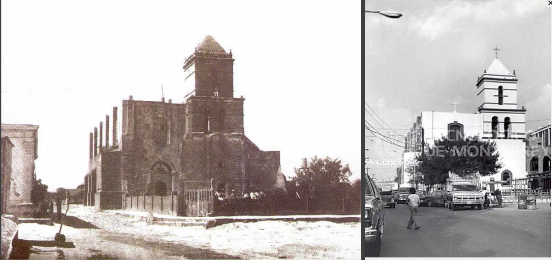 Monterrey, México: Antiguo Templo de Guadalupe en Gpe, Nuevo León