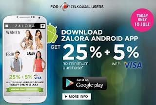 Launching Zalora Mobile App untuk Android - www.NetterKu.com : Menulis di Internet untuk saling berbagi Ilmu Pengetahuan!