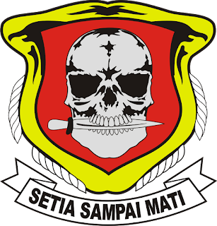 Logo Yonif 303 Setia Sampai Mati