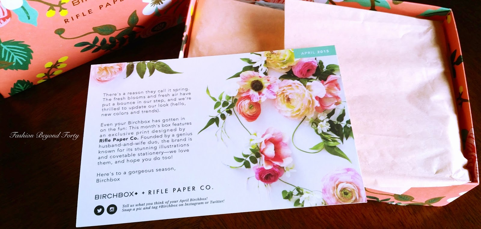 Birchbox April 2015 Review
