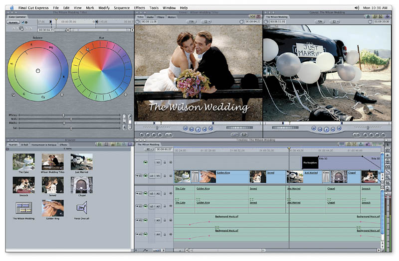 Apple final cut express hd 3.5  mac