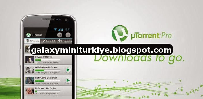 uTorrent Pro APK - Android Torrent İndirme Aracı
