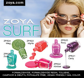 Zoya Nail Polish: Surf Collection
