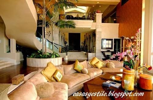 interiores de casas lujosas