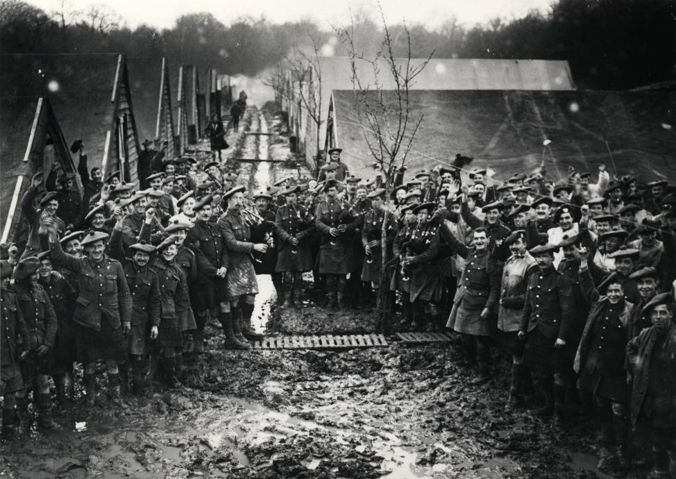 Historical Photos: WW1 Celebrations: 100 years on. Scots New Year ...