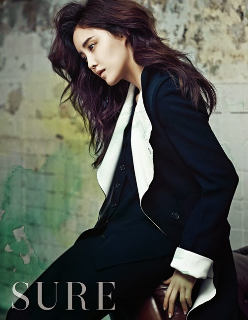 T-ara's beautiful Hyomin for 'SURE' magazine ~ T-ara World ~ 티아라
