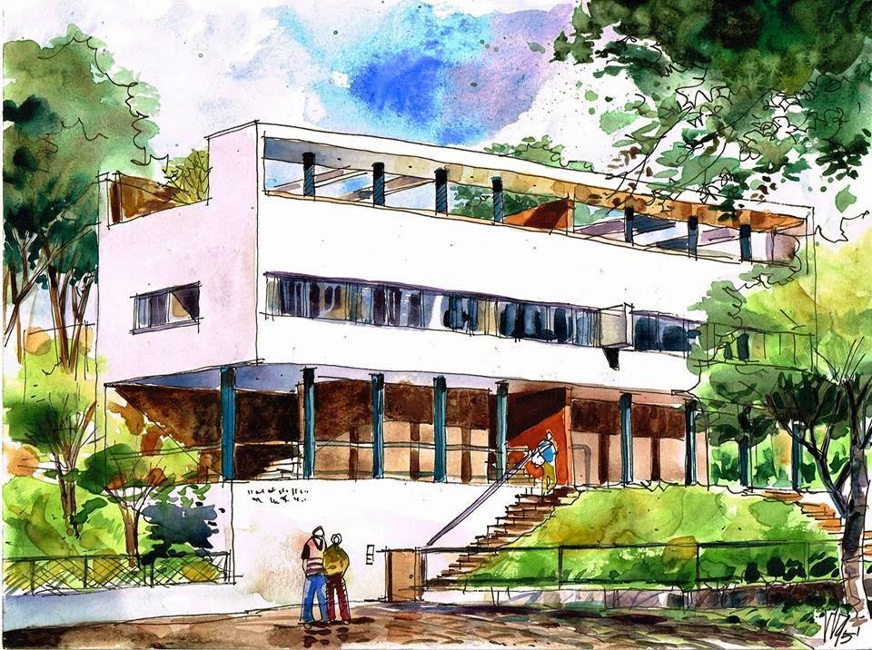Apuntes revista digital de arquitectura bocetos de for 5 tecnicas de la arquitectura