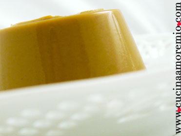budino di melone caramellato