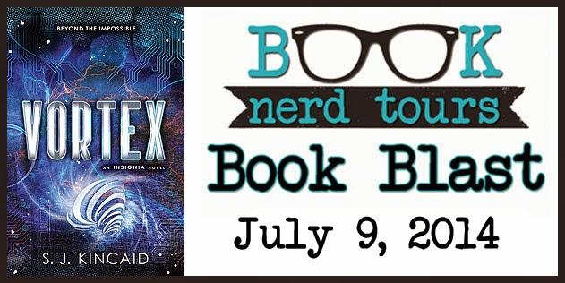 Book Blast: Vortex By S.J. Kincaid