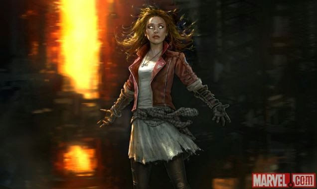 The Avengers: Age of Ultron - concept art: Scarlet Witch