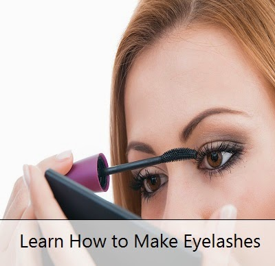 Learn How to Make Eyelashes