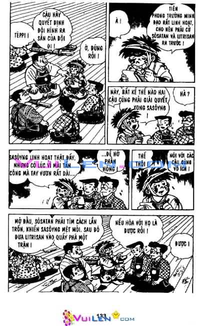 Siêu quậy Teppi chap 29 - Trang 134