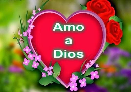 ¡Amo a Dios con todo mi corazón!
