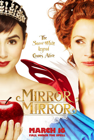 Poster Of Mirror Mirror 2012 In Hindi Bluray 720P Free Download