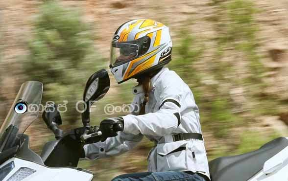 Gossip Lanka news - Full-face helmets banned in Sri Lanka