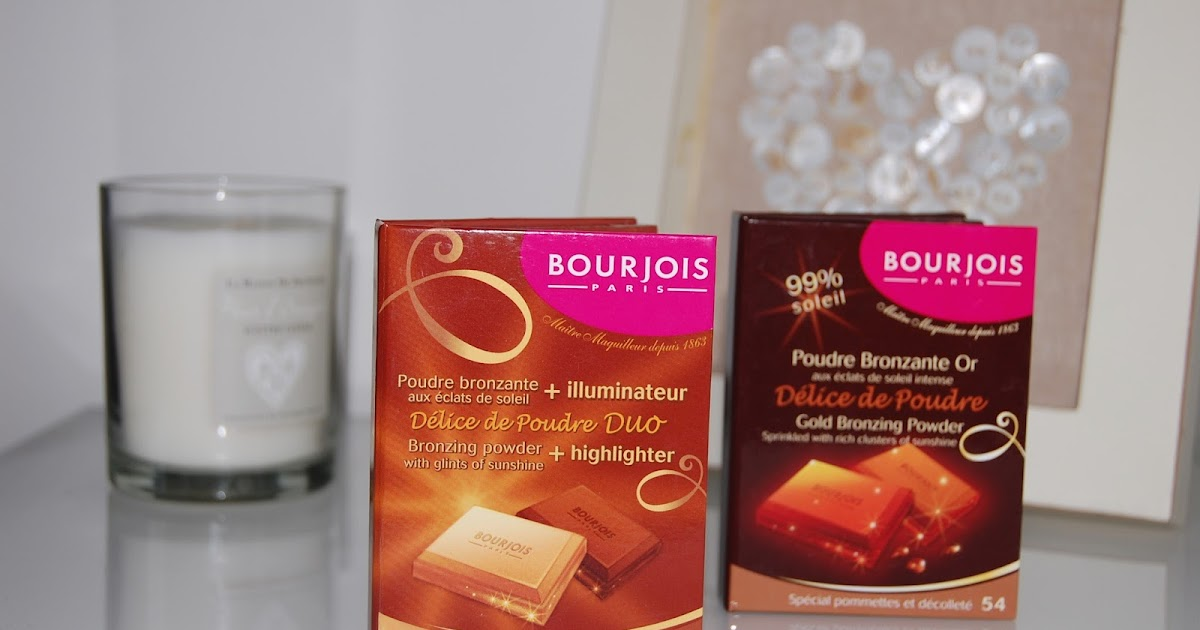 beauty box bourjois delice de poudre duo bronzing powder and highlighter and gold bronzing. Black Bedroom Furniture Sets. Home Design Ideas