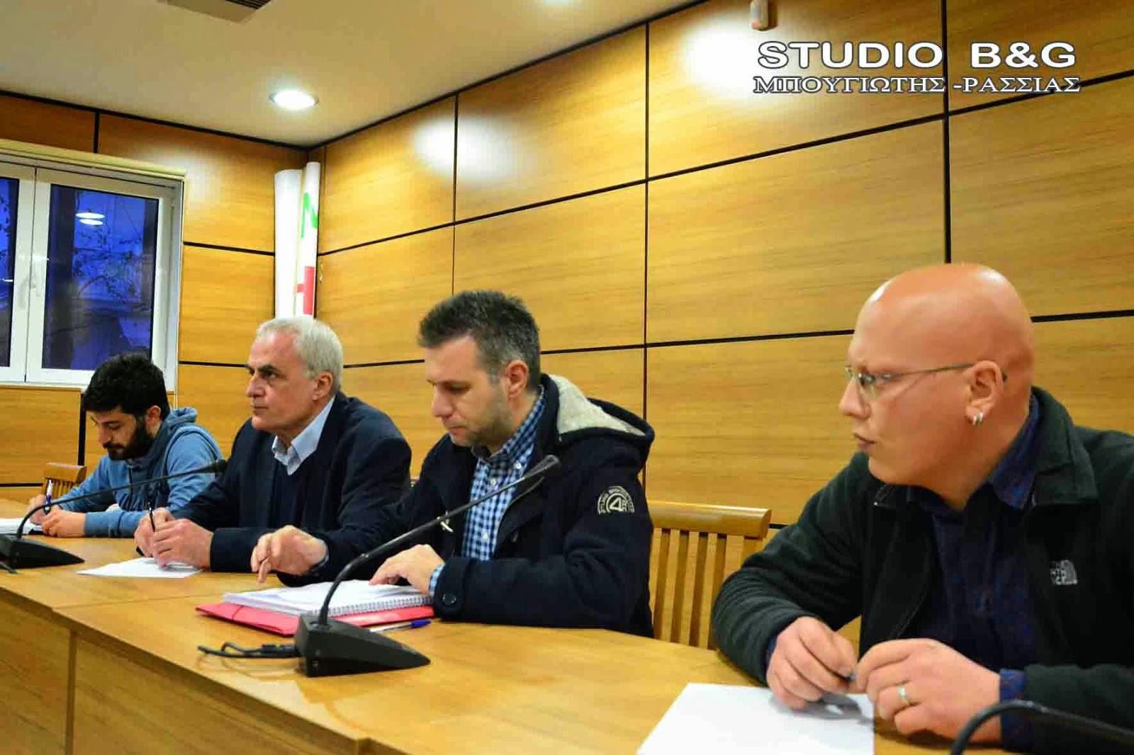 Συνάντηση  ΣΥΡΙΖΑ Αργολίδας και ΑΥΡΑ με τον Μητροπολίτη Αργολίδας Νεκτάριο.