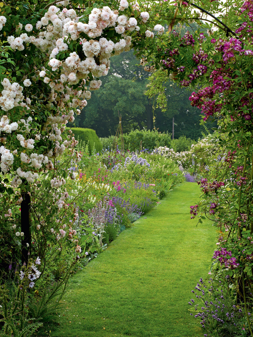Lets Walk Down The Garden Path Content in a Cottage