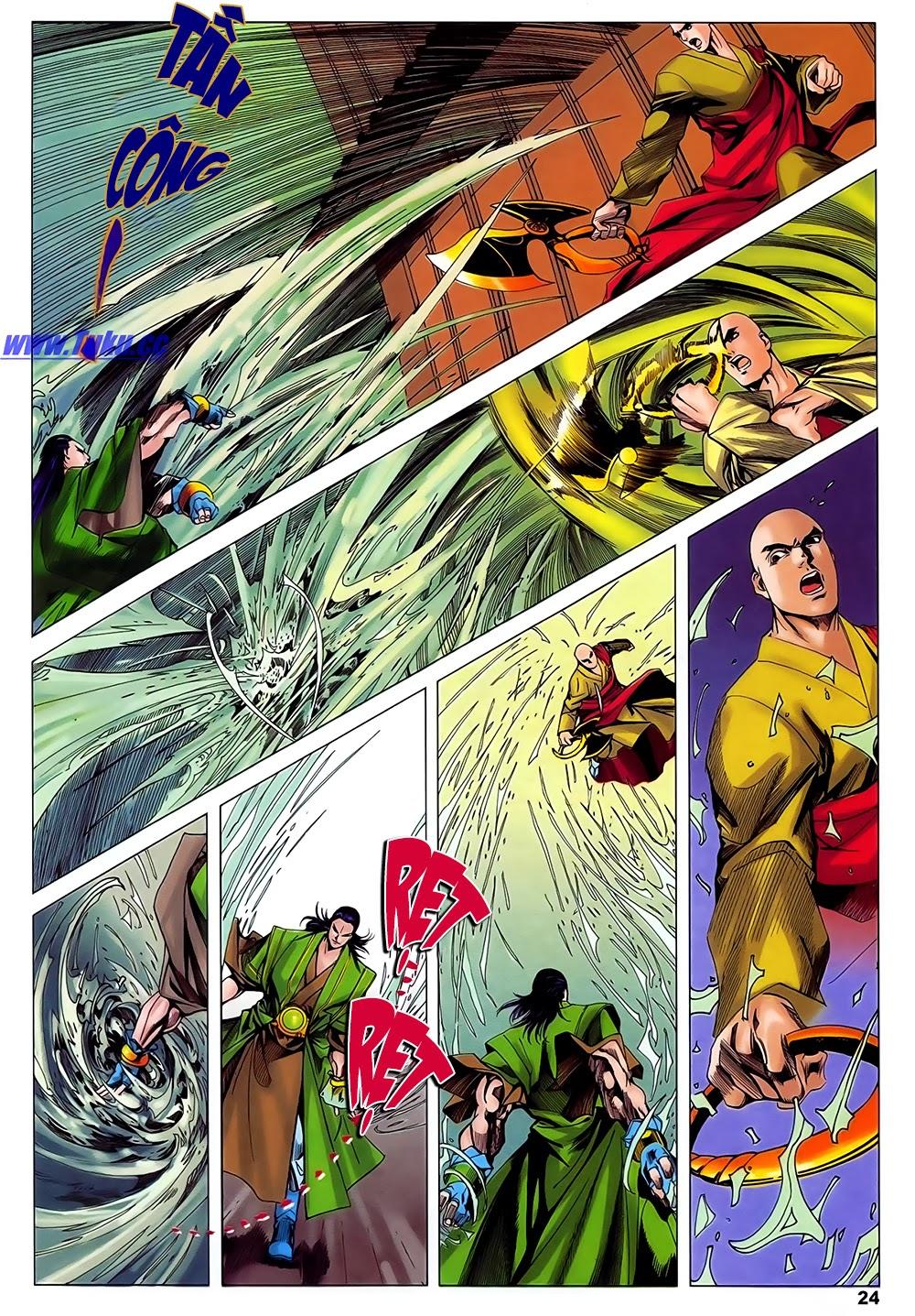 Lục Đạo Thiên Thư chap 31 - Trang 24