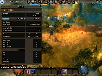 Drakensang Online - Character Stats