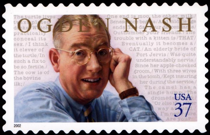 ogden nash Poem hunter all poems of by ogden nash poems 126 poems of ogden nash phenomenal woman, still i rise, the road not taken, if you forget me, dreams.