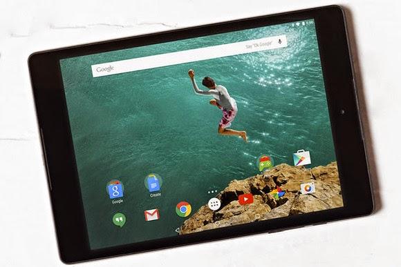 Những điểm nhấn trên Nexus 9