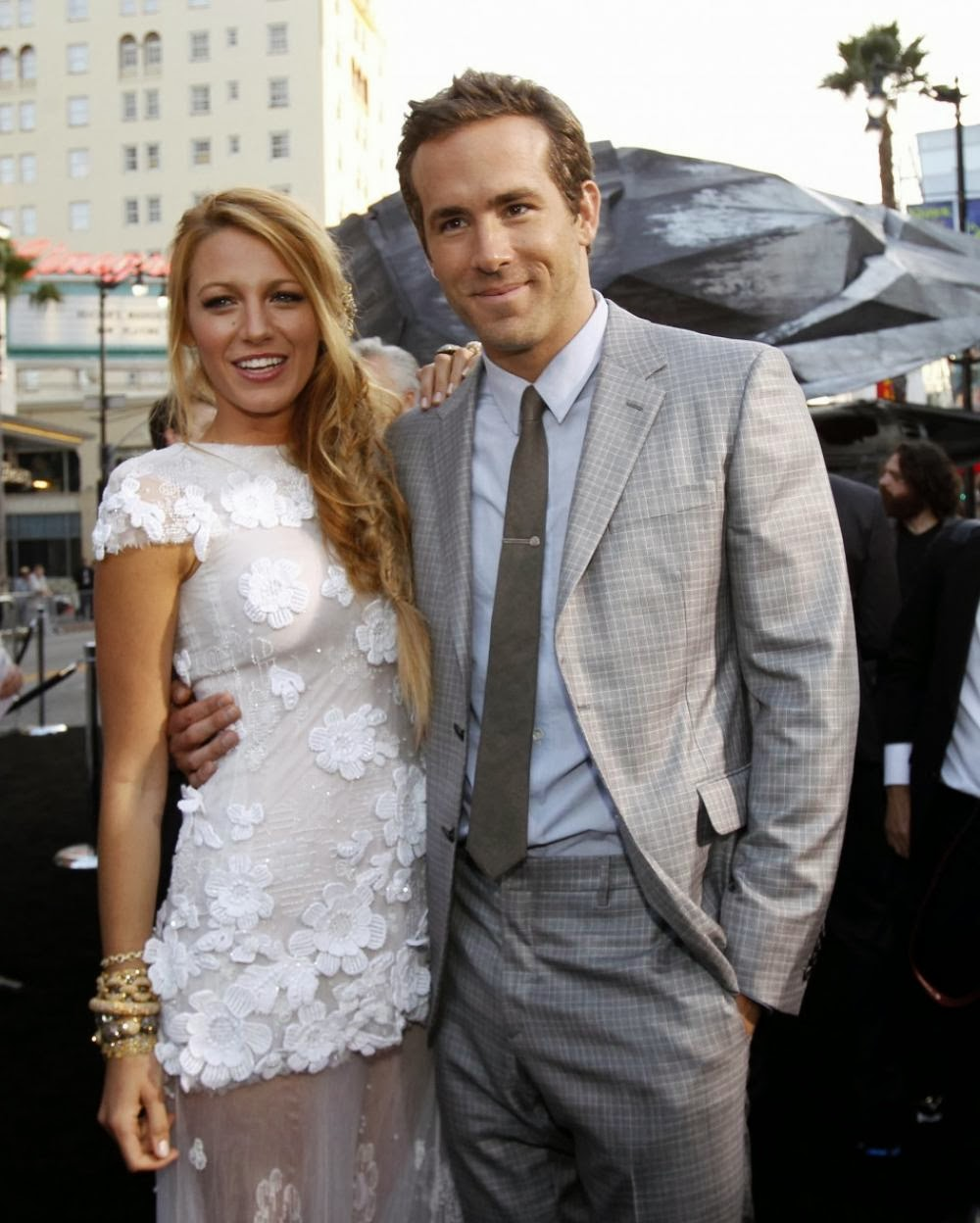 Blake Lively: Custom Made a Wedding Dress