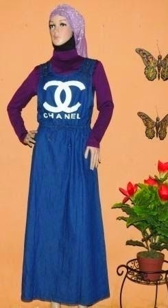 Print Overall Jeans GJ1068