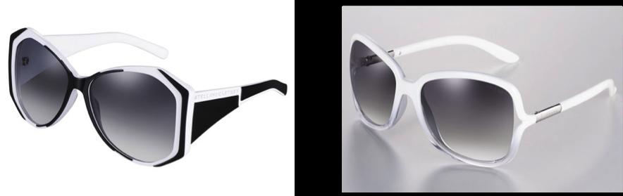 VipandSmart B&W sunglasses