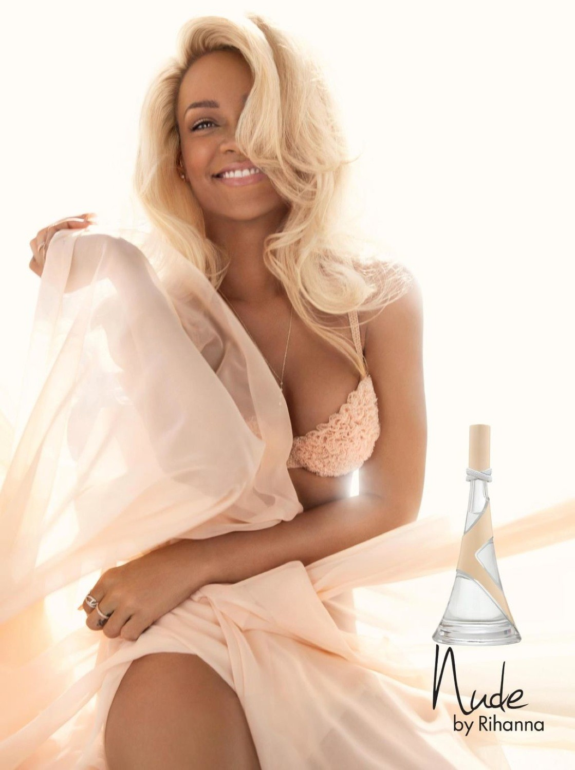 Rihanna Nude By Fragrance Ad