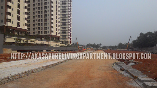 Progress Jalan Dalam Akasa BSD Apartment