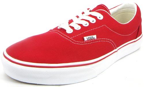 Más Vans era  rojas