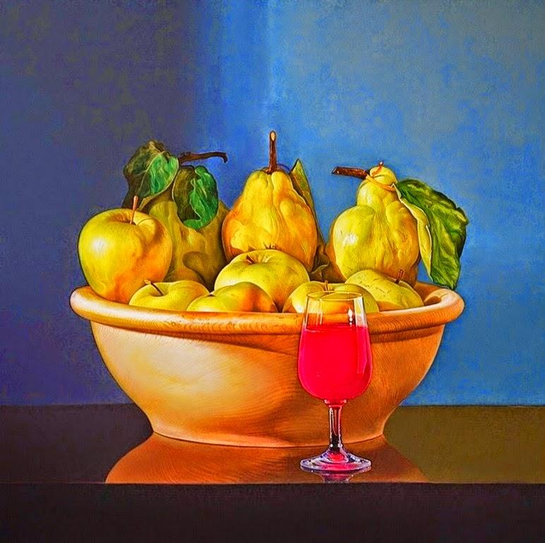 frutas-y-flores-bodegones-al-oleo