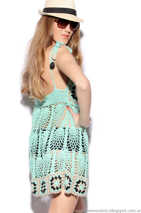 Vestidos verano 2013 moda 2013 Agostina Bianchi.