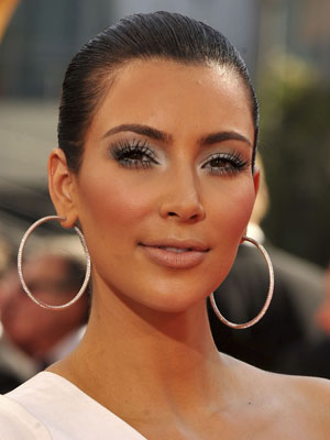 kim kardashian makeup and hair. Usually your makeup.