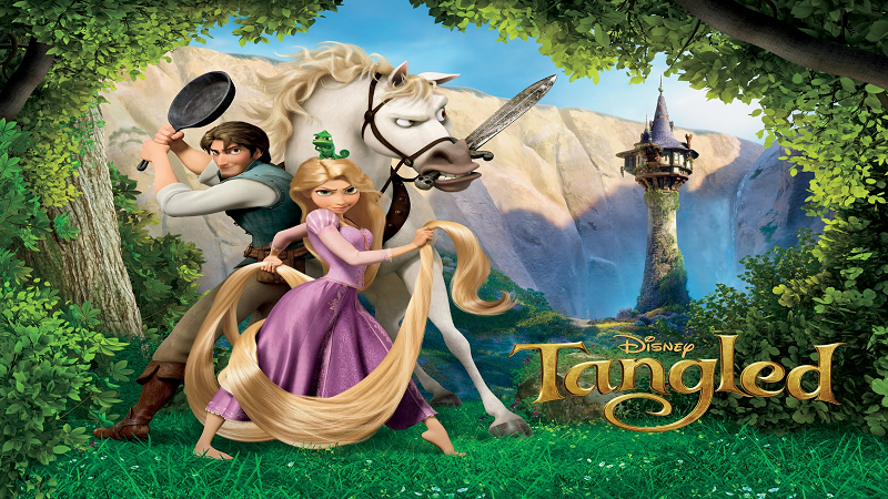 Tangled plot summary