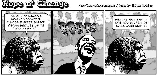 obama ,obama jokes, obamadon, dinosaur, hope and change, stilton jarlsberg