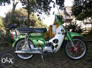 Jual Honda Kalong C70 Mesin Astrea Prima 91 - MALANG